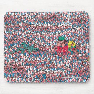 Tapis De Souris Là où est la terre de Waldo | de Waldos