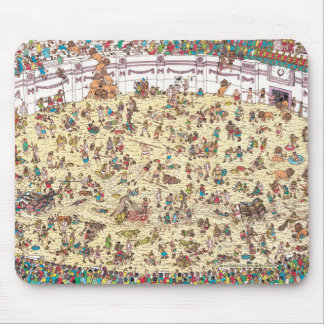 Tapis De Souris Là où est l'amusement et les jeux de Waldo | à