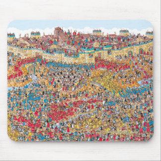 Tapis De Souris Là où est le chahut brutal de Waldo | dans Troie