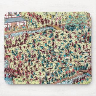 Tapis De Souris Là où est le problème de Waldo | au vieux Japon