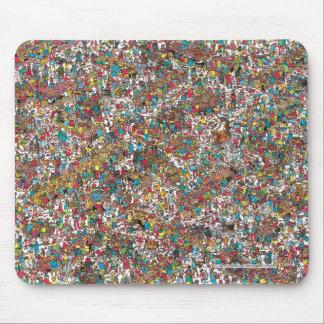 Tapis De Souris Là où est les gloutons avaler de Waldo |