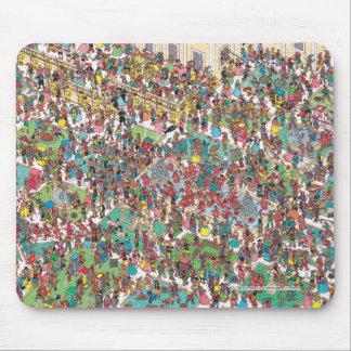 Tapis De Souris Là où est Waldo | Muskeeters fanfaron