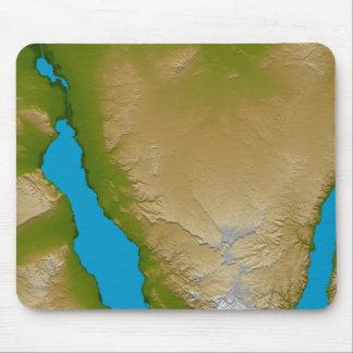 Tapis De Souris La péninsule du Sinaï