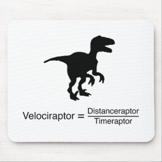 Tapis De Souris la science drôle de velociraptor