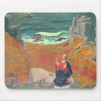 Tapis De Souris La solitude du Christ, 1918