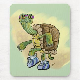Tapis De Souris La tortue jeûnent !
