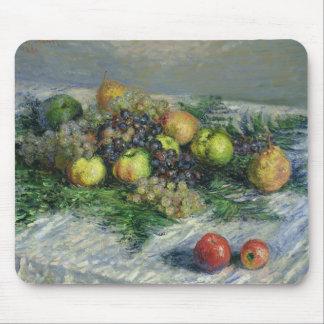 Tapis De Souris La vie de Claude Monet | toujours avec des poires