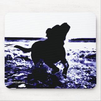 Tapis De Souris Laboratoire noir de Mousepad jouant dans l'eau