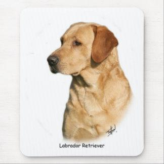 Tapis De Souris Labrador retriever jaune