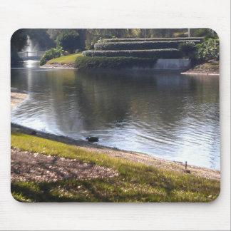 Tapis De Souris Lac et pierre