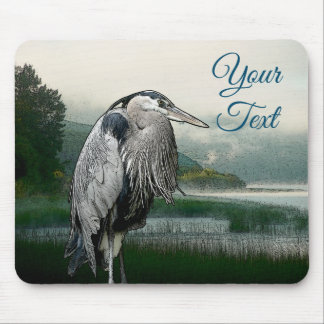 Tapis De Souris Lac heron