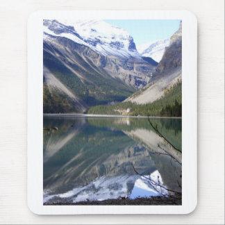 Tapis De Souris Lac Kinney au parc de Mt Robson
