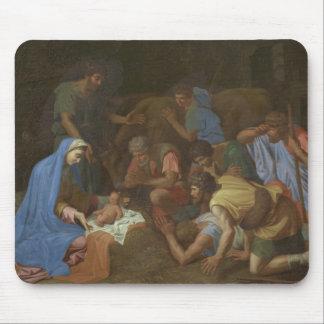 Tapis De Souris L'adoration des bergers circa 1653