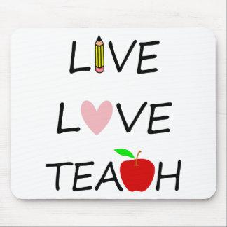 Tapis De Souris l'amour vivant enseignent
