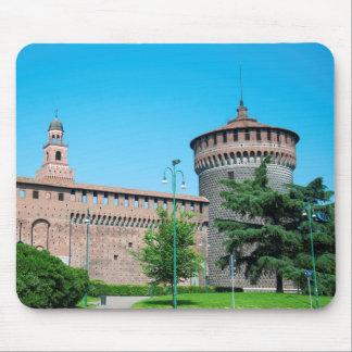 Tapis De Souris Landm d'architecture de l'Italie Milan de tour de