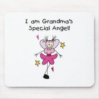 Tapis De Souris L'ange spécial de la grand-maman