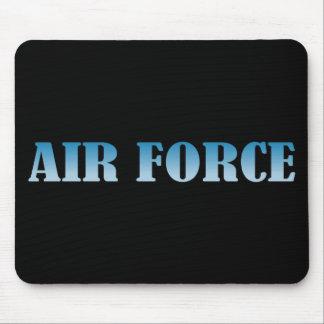 Tapis De Souris L'Armée de l'Air - texte bleu