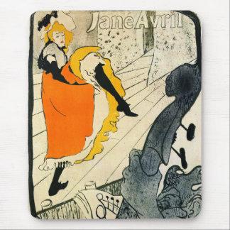 Tapis De Souris Lautrec : La danse de Jane Avril Pouvoir-Peut