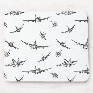 Tapis De Souris L'avion esquisse //