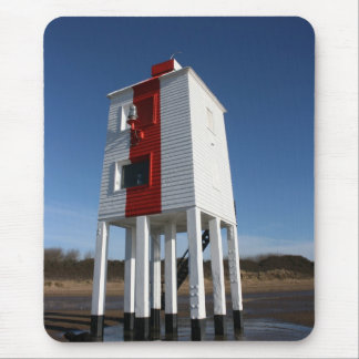 Tapis De Souris Le bas phare, Burnham sur la mer, Somerset, R-U