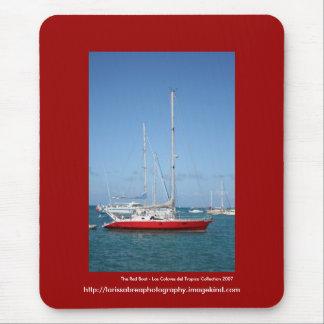 Tapis De Souris Le bateau rouge - customisé