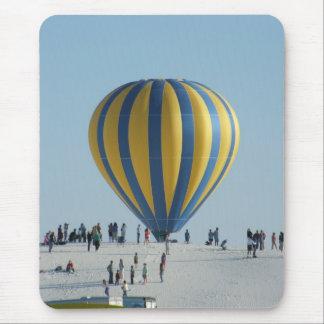 Tapis De Souris Le blanc ponce le festival chaud de ballon à air