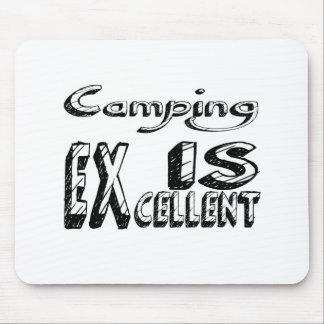 Tapis De Souris Le camping est excellent