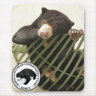 Tapis De Souris Le centre de conservation d'ours de Bornean Sun