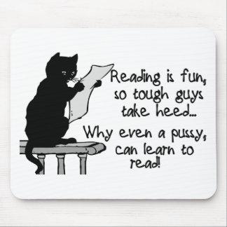 Tapis De Souris Le chat peut lire