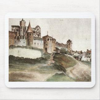 Tapis De Souris Le château chez Trento par Albrecht Durer