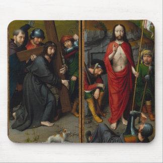 Tapis De Souris Le Christ portant la croix