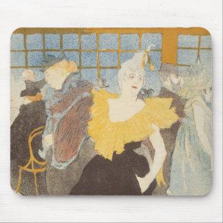 Tapis De Souris Le Clownesse dans le fard à joues, 1897