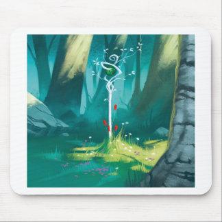Tapis De Souris Le coeur de la forêt