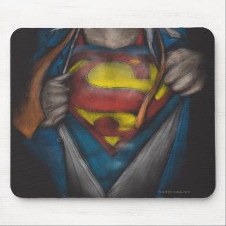 Tapis De Souris Le coffre de Superman | indiquent le croquis