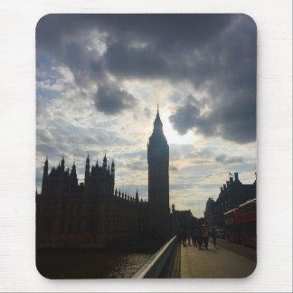 Tapis De Souris Le coucher du soleil de Londres Royaume-Uni Big
