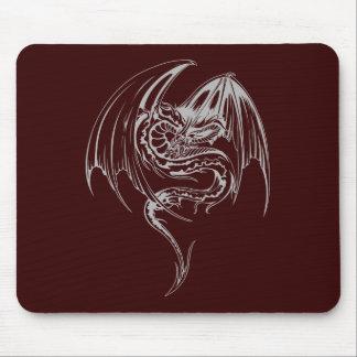 Tapis De Souris Le dragon de Wyvern sont les créatures mythiques