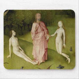Tapis De Souris Le jardin des plaisirs terrestres, 15ème siècle