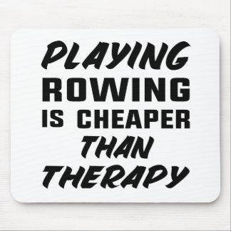 Tapis De Souris Le jeu de l'aviron est meilleur marché que la