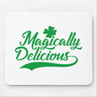 Tapis De Souris Le jour de St Patrick comme par magie délicieux