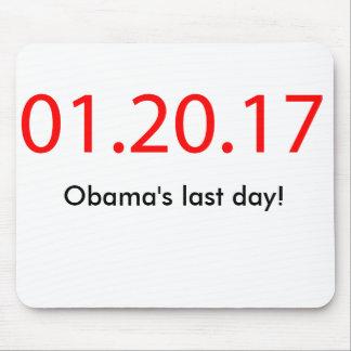 Tapis De Souris Le jour passé d'Obama
