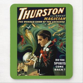 Tapis De Souris Le magicien célèbre du monde de Thurston - cru