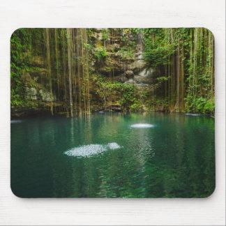 Tapis De Souris Le Mexique, Yucatan, lac pittoresque
