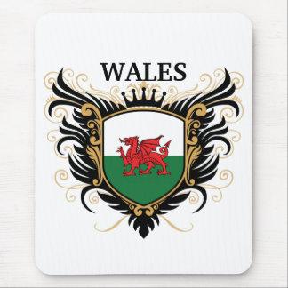 Tapis De Souris Le Pays de Galles [personnalisez]
