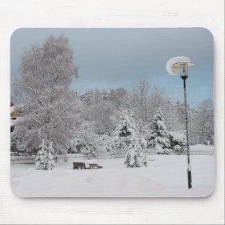 Tapis De Souris Le pays des merveilles d'hiver
