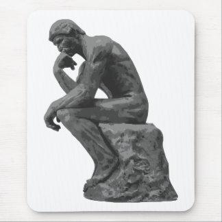 Tapis De Souris Le penseur de Rodin