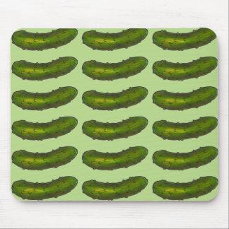 Tapis De Souris Le pickle à l'aneth vert croquant marine le tapis
