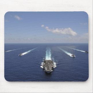Tapis De Souris Le porte-avions USS Abraham Lincoln