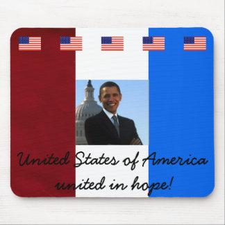 Tapis De Souris Le Président Barack Obama