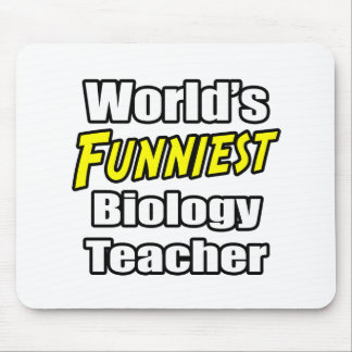 Tapis De Souris Le professeur de biologie le plus drôle du monde