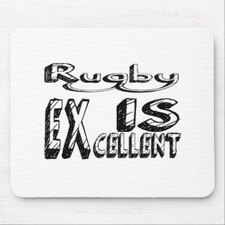Tapis De Souris Le rugby est excellent